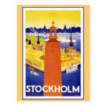 Vintage Stockholm Sweden Post Cards