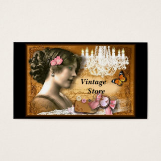 Vintage Store Antique Store Business Card