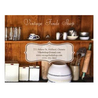 Vintage Store Bake Shop Business Postcard Template