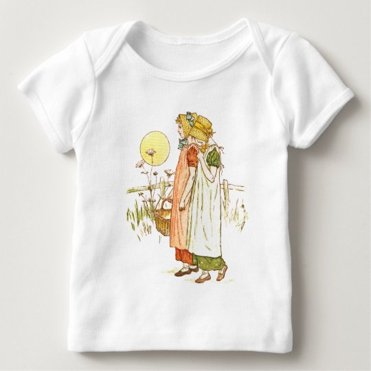 Vintage Storybook Art Baby T-Shirt