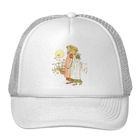 Vintage Storybook Art Trucker Hat