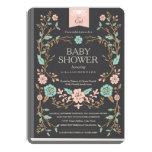 Vintage Storybook Baby Shower 5x7 Paper Invitation Card