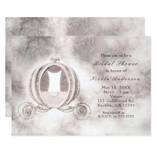 Vintage Storybook Cinderella Carriage Invitations