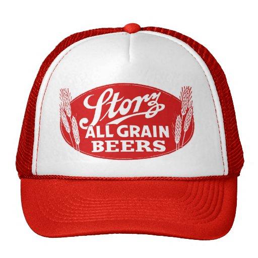 Vintage Beer Hats 101