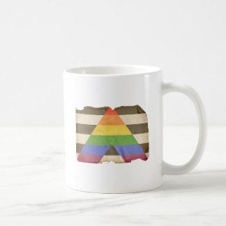 Vintage straight ally flag coffee mug