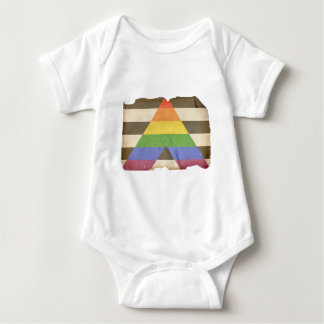 Vintage straight ally flag shirt