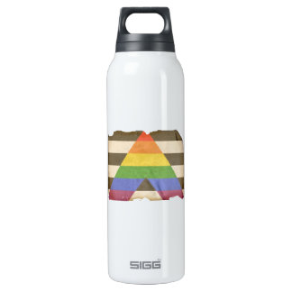 Vintage straight ally flag SIGG thermo 0.5L insulated bottle
