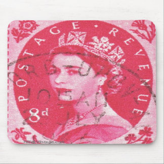 Vintage Stratford-Upon-Avon Postage Stamp Mousepads