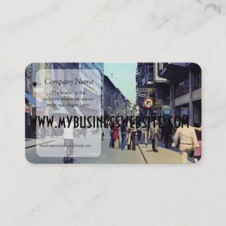 Vintage Street 1971 Business Card