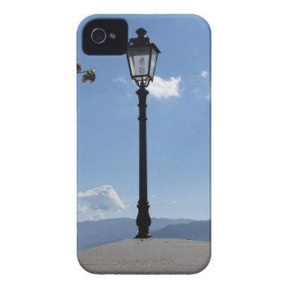 Vintage street lamp against blue sky Case-Mate iPhone 4 case