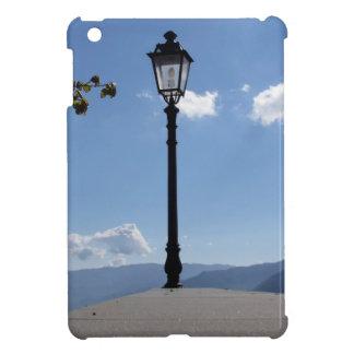 Vintage street lamp against blue sky iPad mini cases