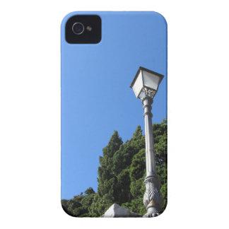 Vintage street lamp against blue sky iPhone 4 Case-Mate case