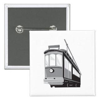 Vintage Streetcar Tram Train Pins
