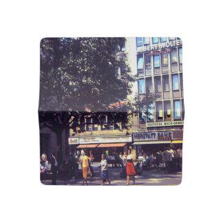 Vintage Streetcorner 1969 Checkbook Cover