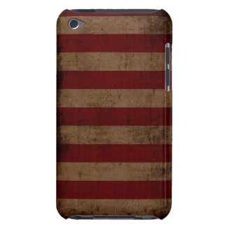 Vintage Stripes Barely There iPod Case