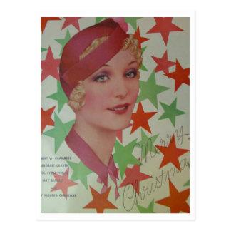 Vintage Style 1932 Postcard