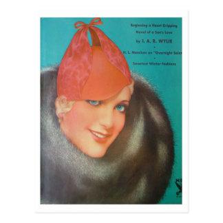 Vintage Style 1933 Postcard
