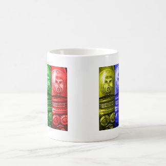 Vintage Style Astronaut Space Man Retro Design Coffee Mug