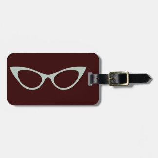 vintage style bag tag