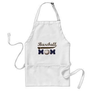 Vintage Style baseball mom Adult Apron