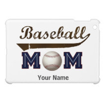 Vintage Style baseball mom Case For The iPad Mini