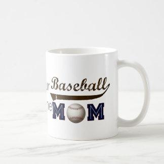Vintage Style baseball mom Coffee Mug