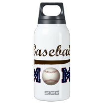 Vintage Style baseball mom Insulated Water Bottle