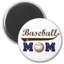Vintage Style baseball mom Magnet