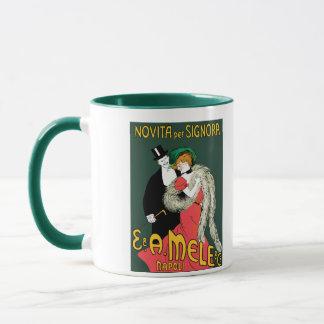 Vintage style belle epoque Italian ladies fashion Mug