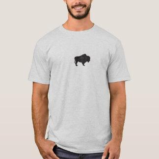 Vintage-style Bison T-shirt