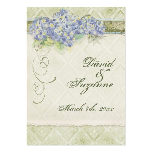 Vintage Style Blue Hydrangea - Favor Gift Tags profilecard
