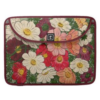 Vintage style Bright floral display MacBook Pro Sleeve