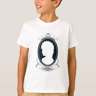 Vintage style cameo silhouette design T-Shirt