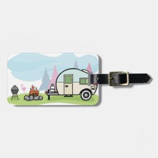 Vintage Style Camper Luggage Tags