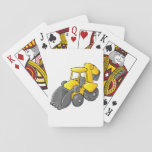"""Vintage Style Camper Playing Cards<br><div class=""""desc"""">A cool design of a yellow digger. The digger is in an idle state. The digger body is yellow with grey wheels and grey bucket. This yellow digger design looks great on this Playing Cards</div>"""