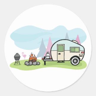 Vintage Style Camper Stickers