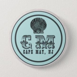 Vintage Style Cape May NJ Beach Tag Pin