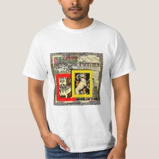 Vintage Style Celtic & Medieval Design T-Shirt