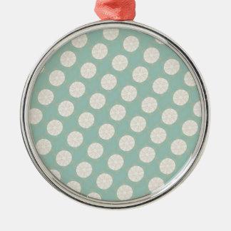 Vintage Style Customizable Pattern Metal Ornament