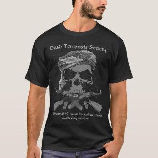 """Vintage Style """"Dead Terrorists Society"""" Tee"""