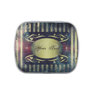 Vintage Style Decorative Candy Tin