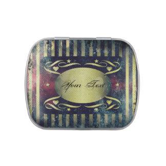 Vintage Style Decorative Jelly Belly Tins