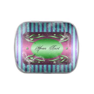 Vintage Style Decorative Jelly Belly Candy Tin