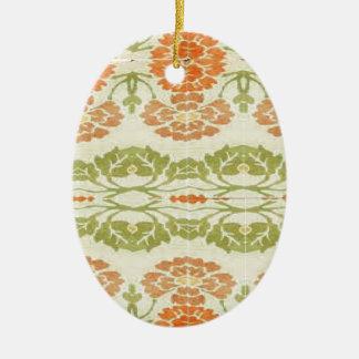Vintage style design ceramic ornament