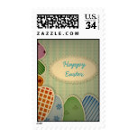 Vintage style Easter  Postage stamps