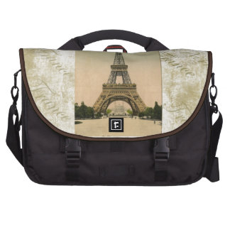 Vintage Style Eiffel Tower Art Commuter Bags