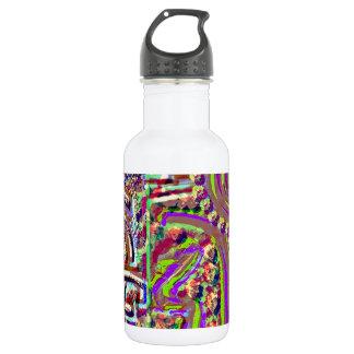 VINTAGE Style Engraved Healing Art Stainless Steel Water Bottle