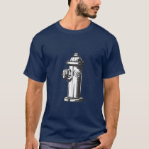 Vintage Style Fire Hydrant T-Shirt