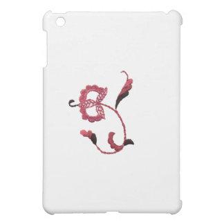 Vintage Style Floral Motif in Rose Fuschia iPad Mini Cases
