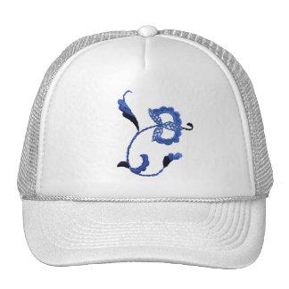 Vintage Style Floral Motif Trucker Hat